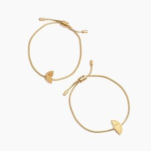 Madewell Friendship Chain Bracelet Set